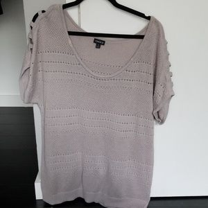 Grey Torrid sweater top